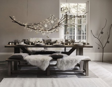 Beautiful Christmas Dining Room Decor Ideas Should You Apply This Winter 08