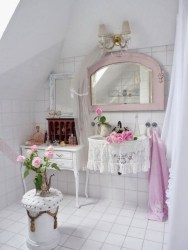 Beautiful Romantic Bathroom Decorations 09