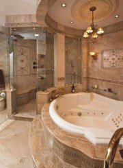 Beautiful Romantic Bathroom Decorations 19