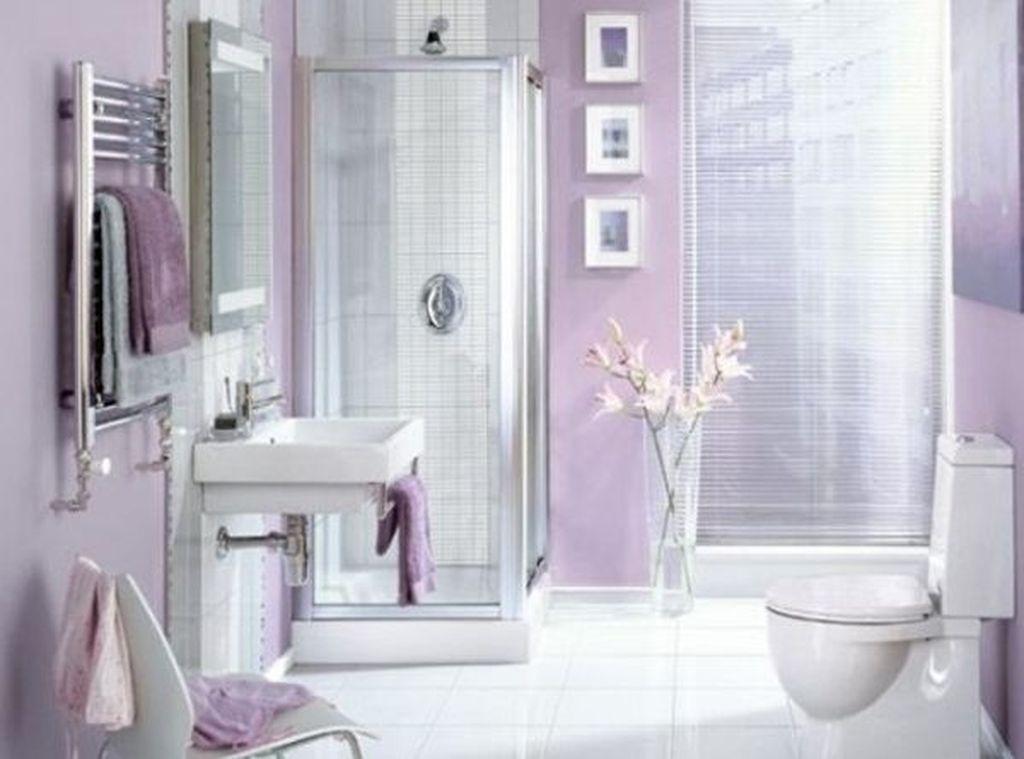 Beautiful Romantic Bathroom Decorations 24