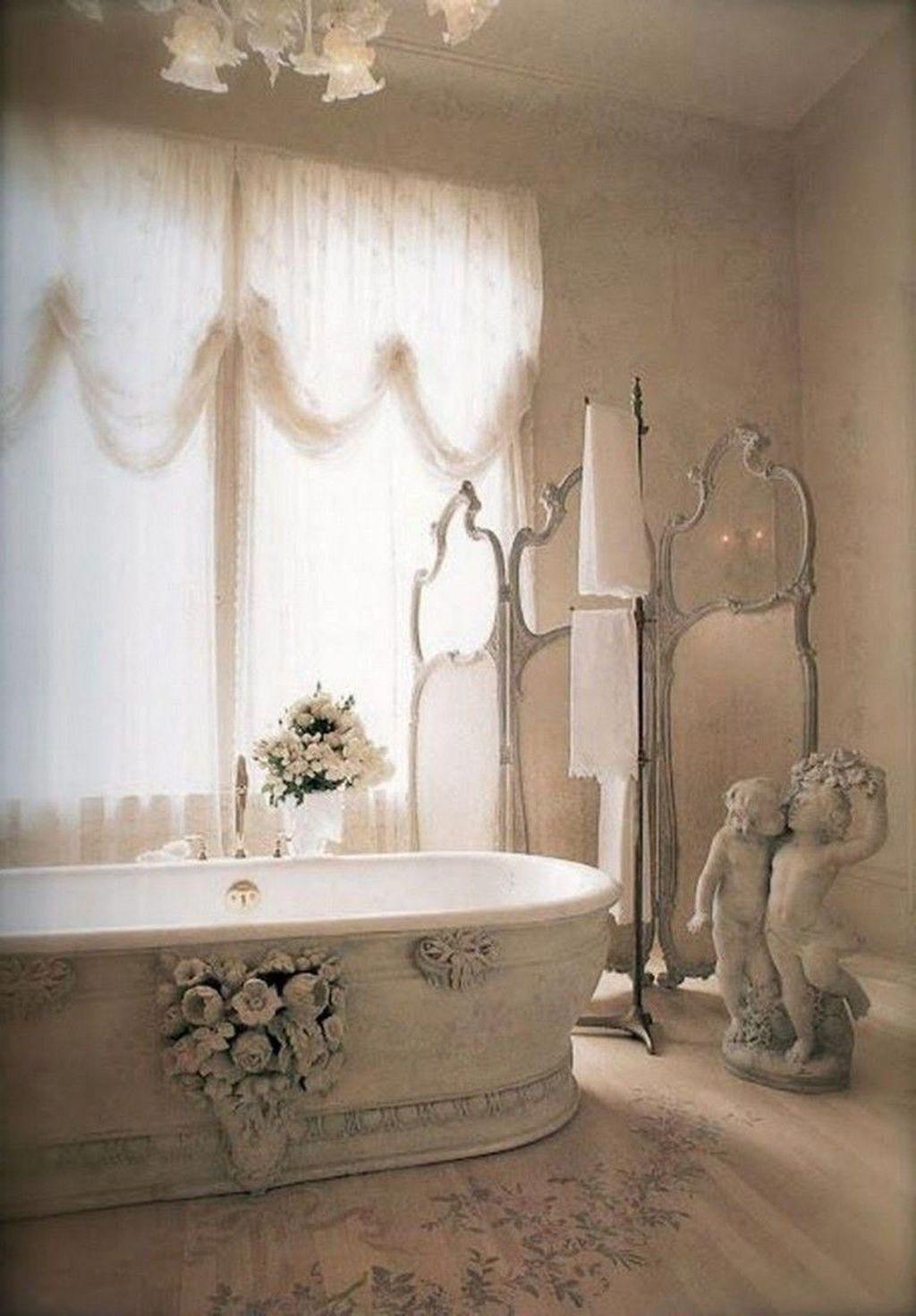Beautiful Romantic Bathroom Decorations 28
