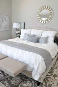 Beautiful White Bedroom Design Ideas 38