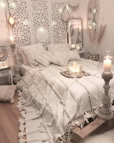 Beautiful White Bedroom Design Ideas 50