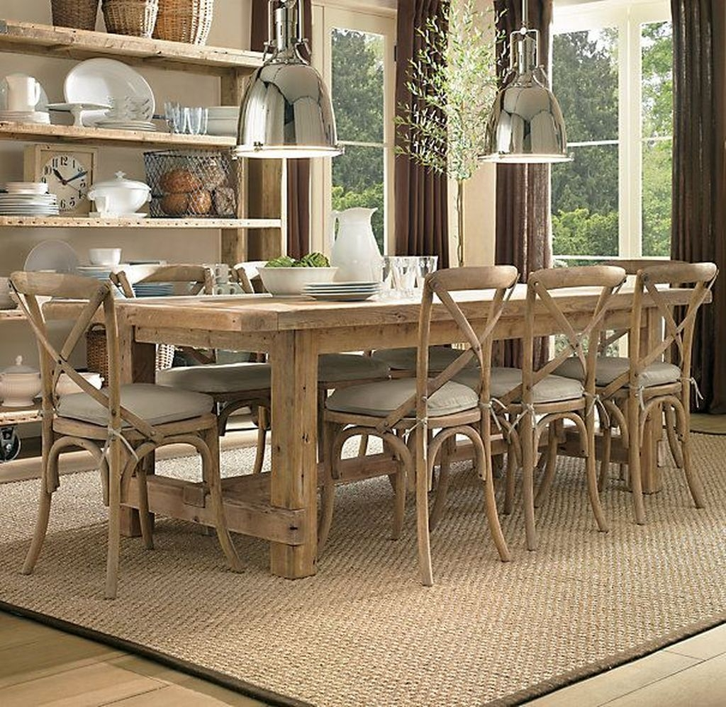 Choosing The Right Farmhouse Dining Room Table 16