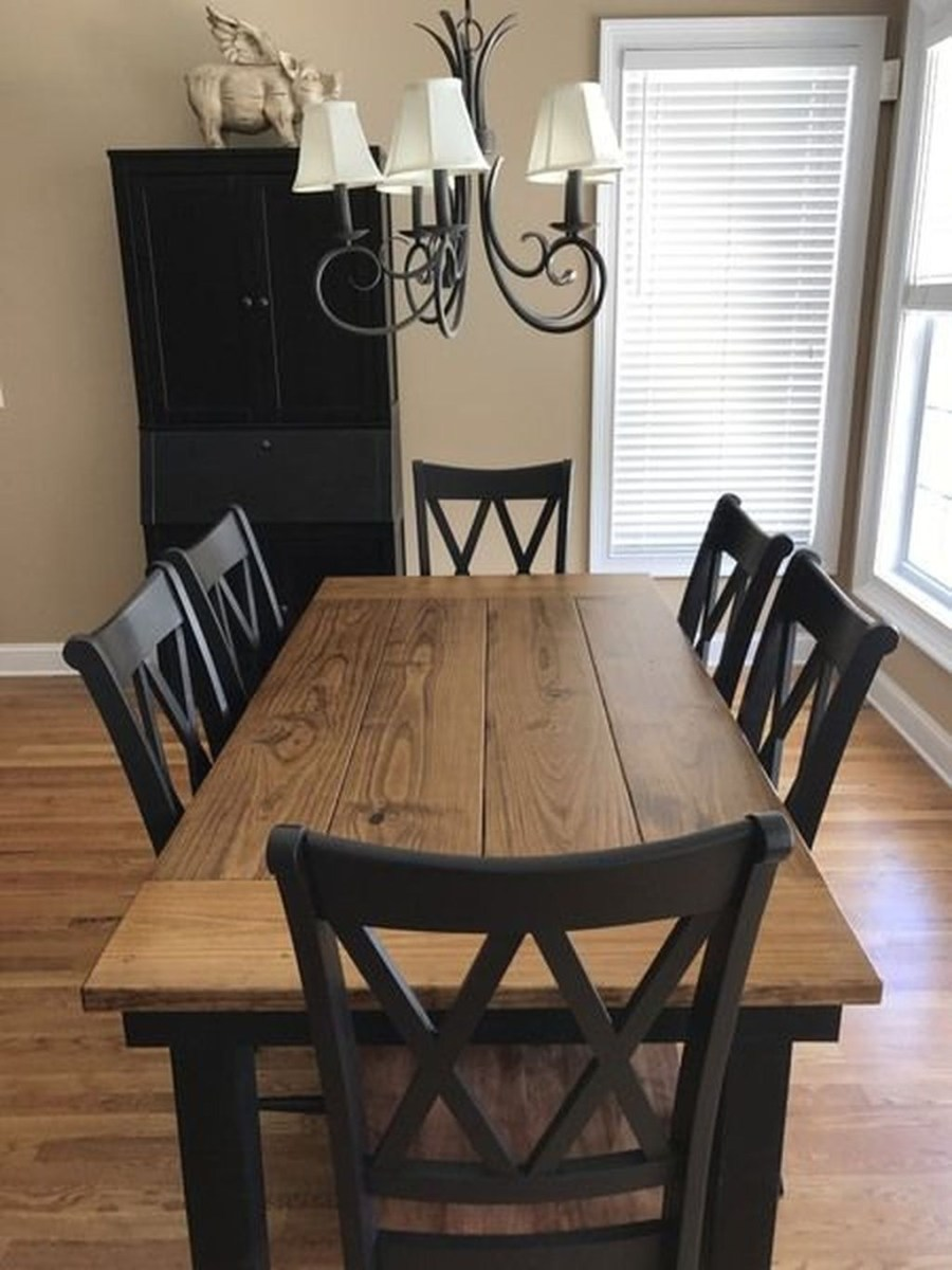 Choosing The Right Farmhouse Dining Room Table 23