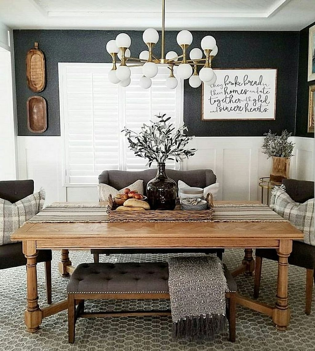 Choosing The Right Farmhouse Dining Room Table 30