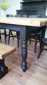 Choosing The Right Farmhouse Dining Room Table 32
