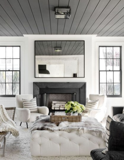 Modern Minimalist House Design In Black And White Color Scheme 01