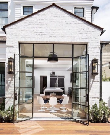 Modern Minimalist House Design In Black And White Color Scheme 29