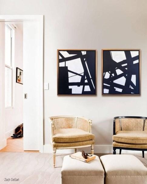 Modern Minimalist House Design In Black And White Color Scheme 33