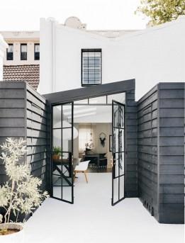 Modern Minimalist House Design In Black And White Color Scheme 42