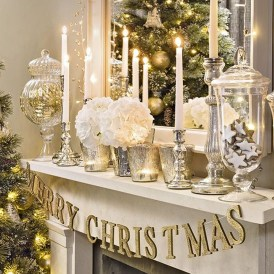 Nice Mantel Decorations Best For Winter 20