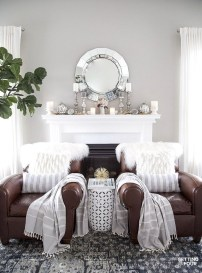 Nice Mantel Decorations Best For Winter 30