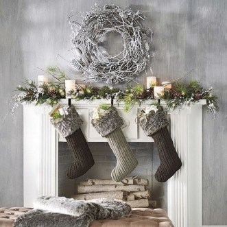 Nice Mantel Decorations Best For Winter 33
