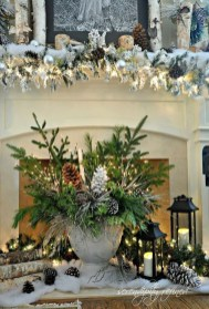 Nice Mantel Decorations Best For Winter 46