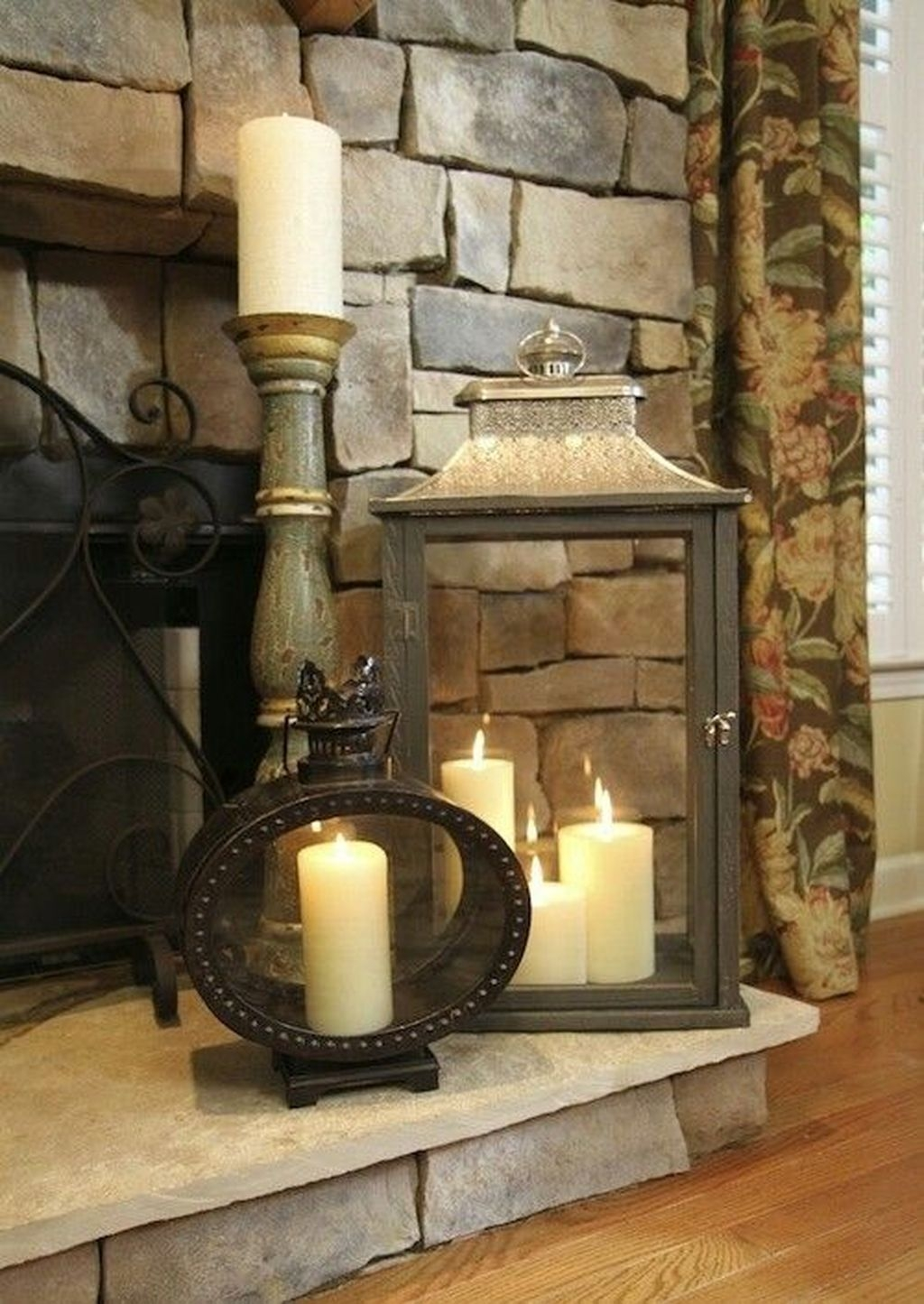 Nice Mantel Decorations Best For Winter 48