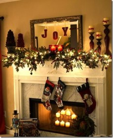 Nice Mantel Decorations Best For Winter 50