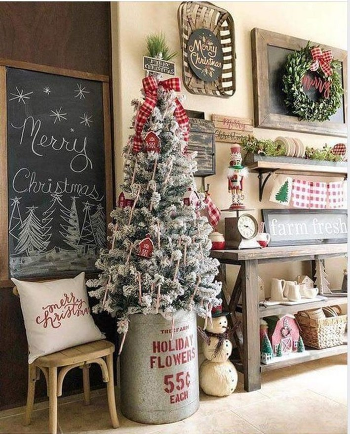 Perfect Ideas To Have Great Vintage Christmas Decoration 10