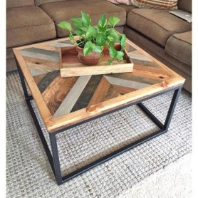 Popular Modern Coffee Table Ideas For Living Room 07