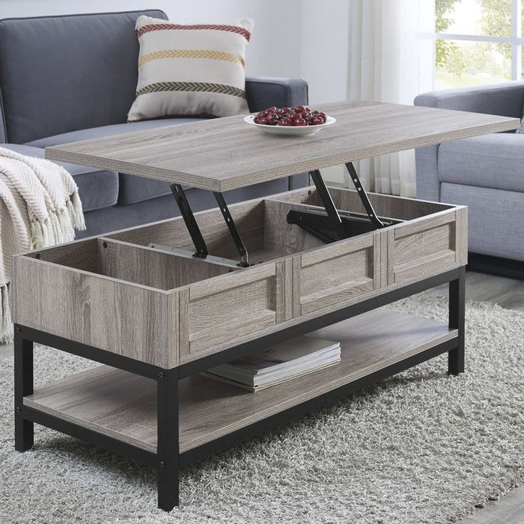Popular Modern Coffee Table Ideas For Living Room 08