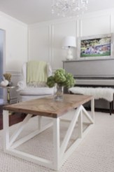 Popular Modern Coffee Table Ideas For Living Room 27