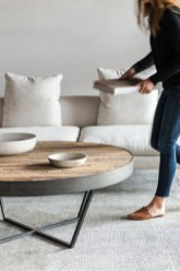 Popular Modern Coffee Table Ideas For Living Room 46