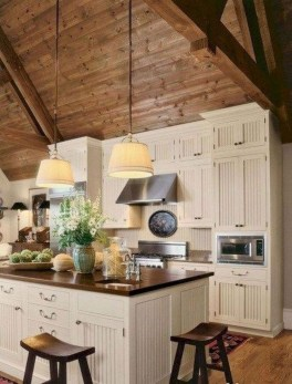 Popular Rustic Kitchen Cabinet Should You Love 16