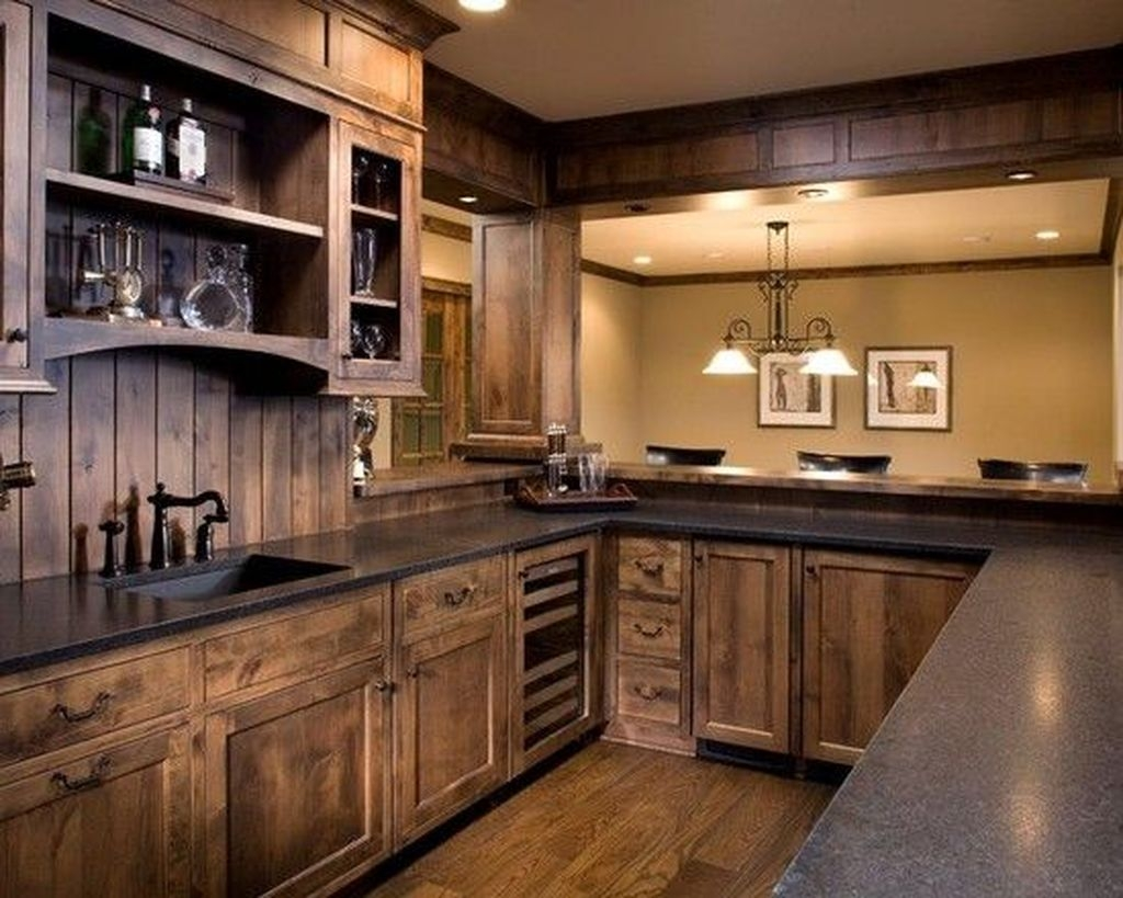 Popular Rustic Kitchen Cabinet Should You Love 22