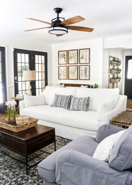 50 Stunning Modern Farmhouse Decorations Ideas - SWEETYHOMEE
