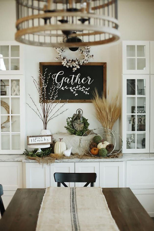 Stunning Modern Farmhouse Decorations Ideas 35