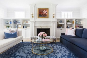 Stunning Romantic Living Room Decor 35