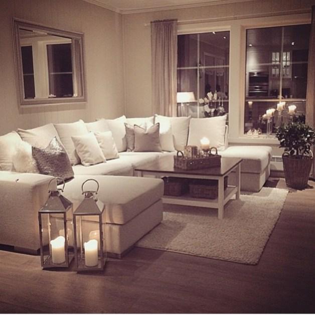 Stunning Romantic Living Room Decor 45