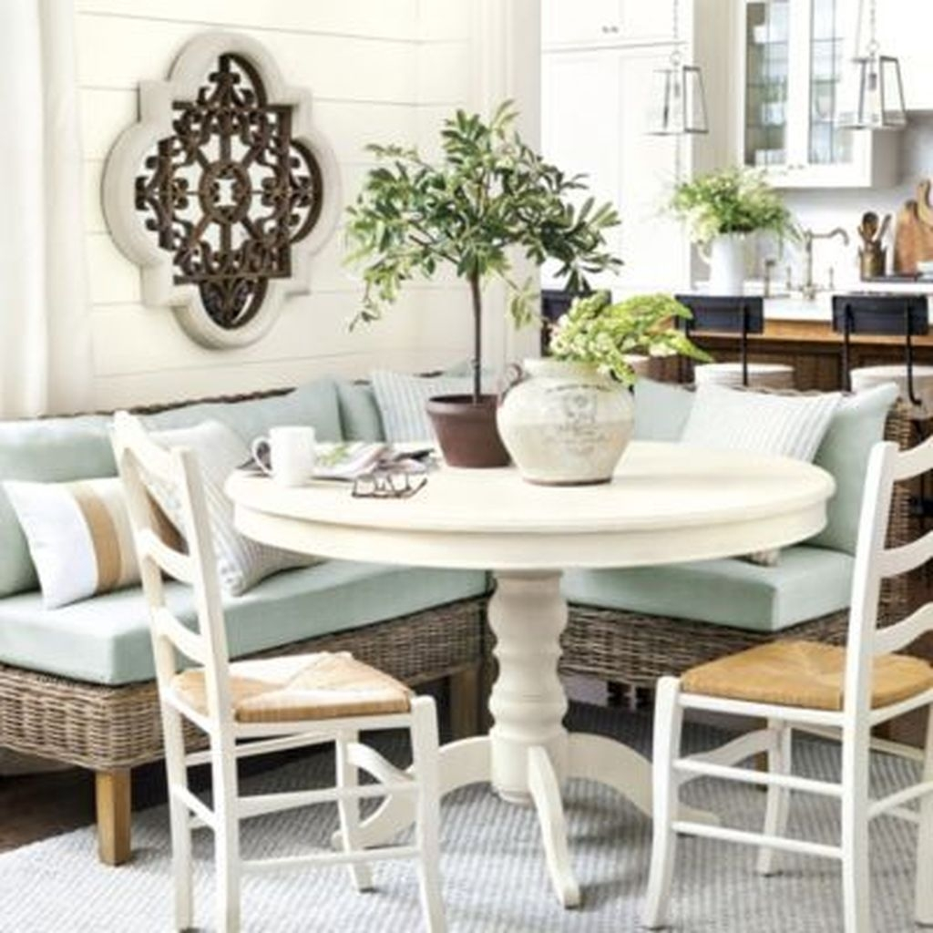 Sweet Romantic Dining Room Decor 21