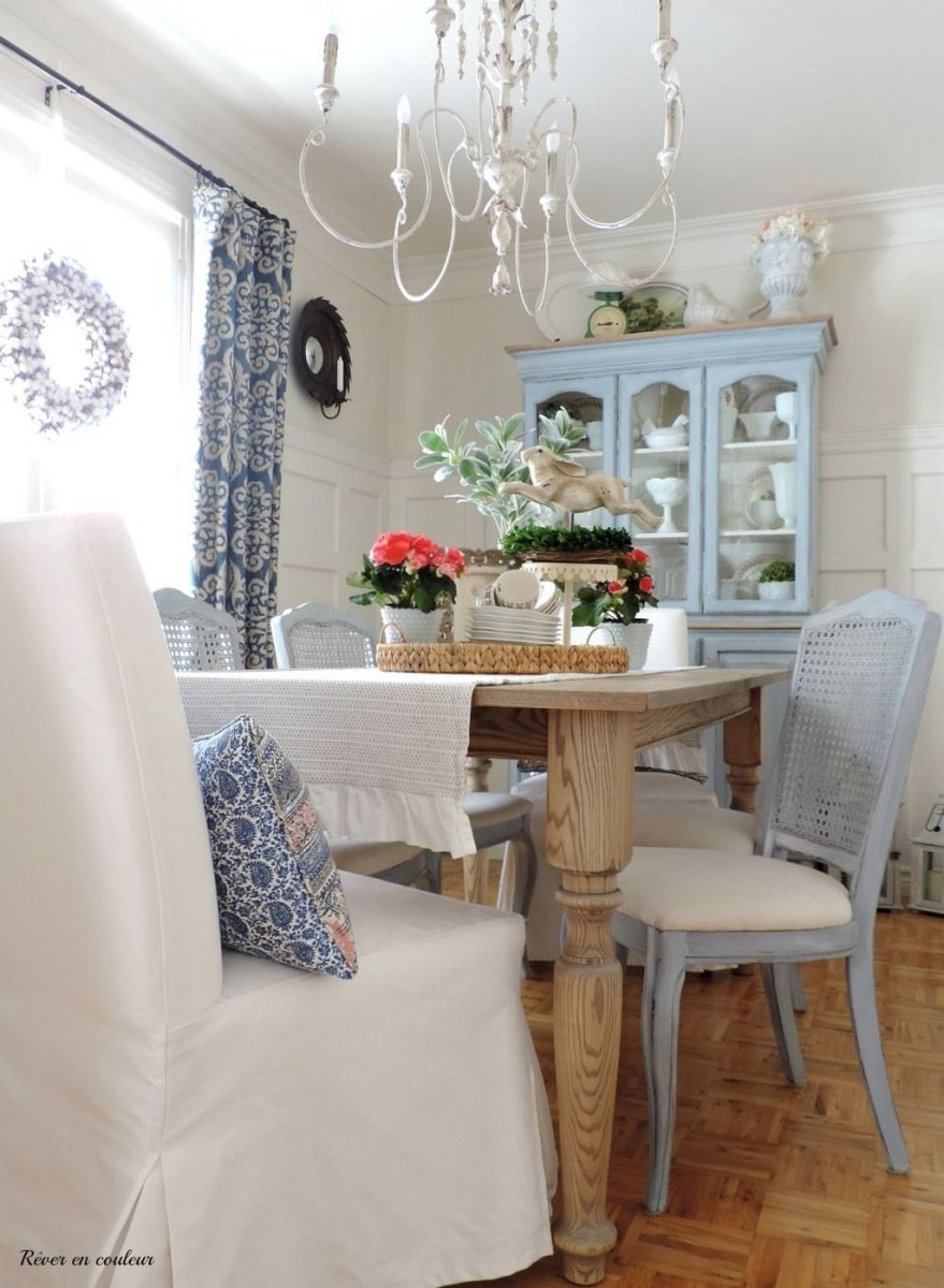 Romantic Dining Room: Sweet Romantic Dining Room Decor 26