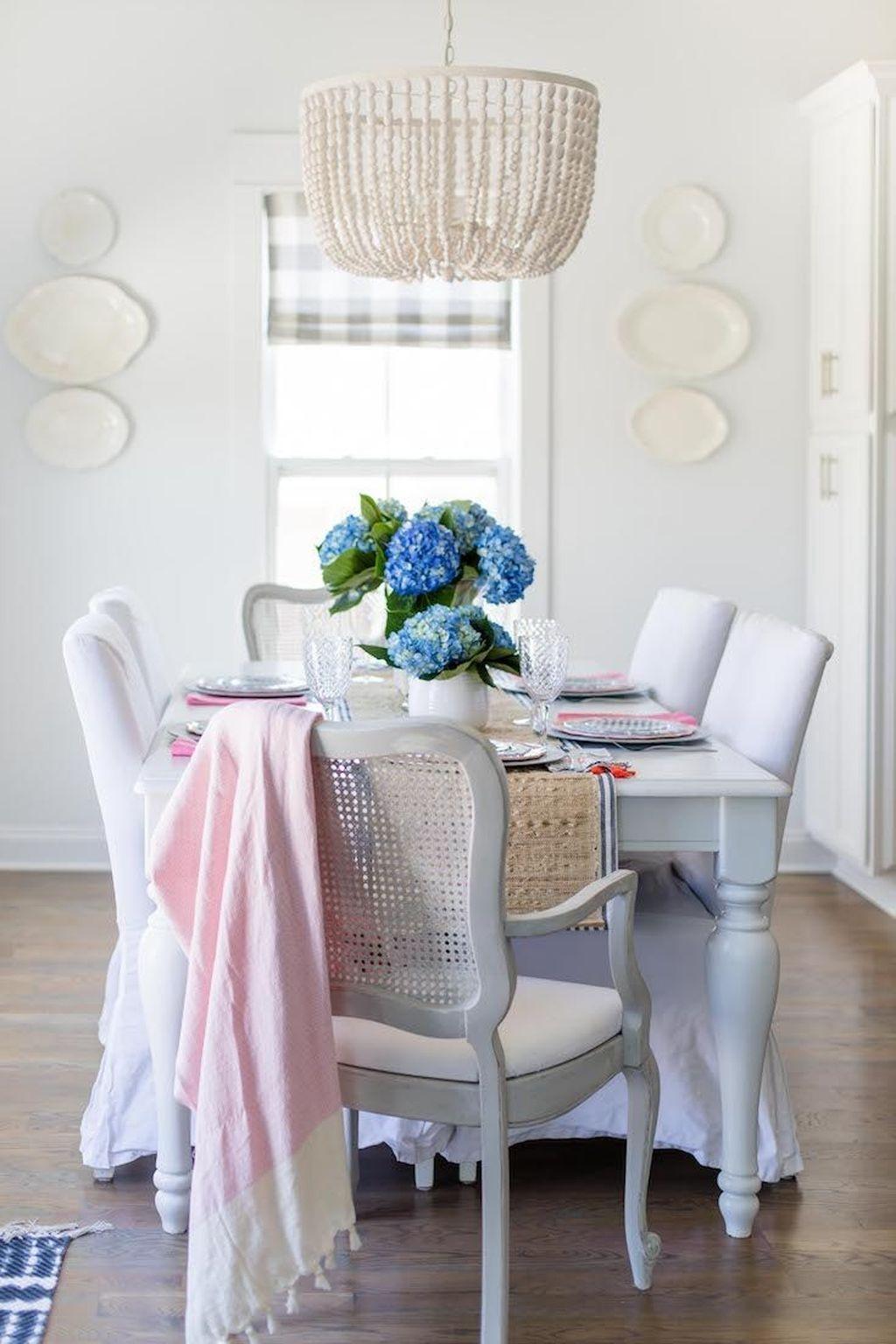 Sweet Romantic Dining Room Decor 30