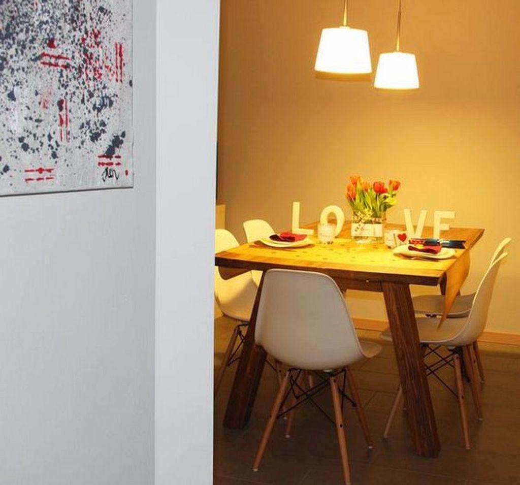 Sweet Romantic Dining Room Decor 31