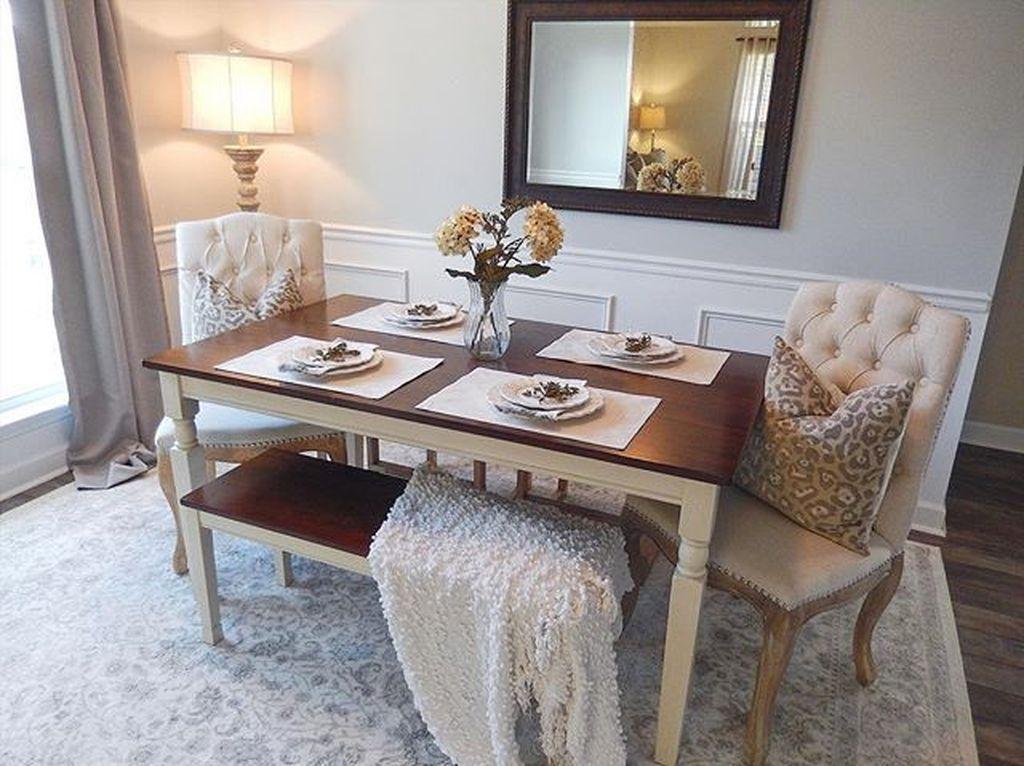 Sweet Romantic Dining Room Decor 36