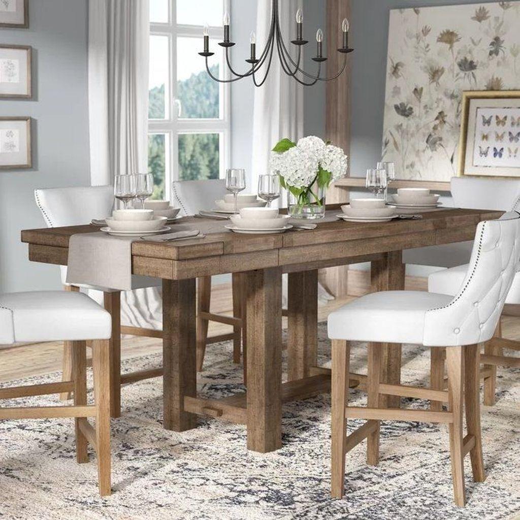 Amazing Rustic Dining Room Design Ideas 12