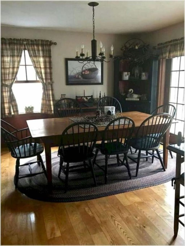 Amazing Rustic Dining Room Design Ideas 25