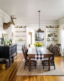 Amazing Rustic Dining Room Design Ideas 27
