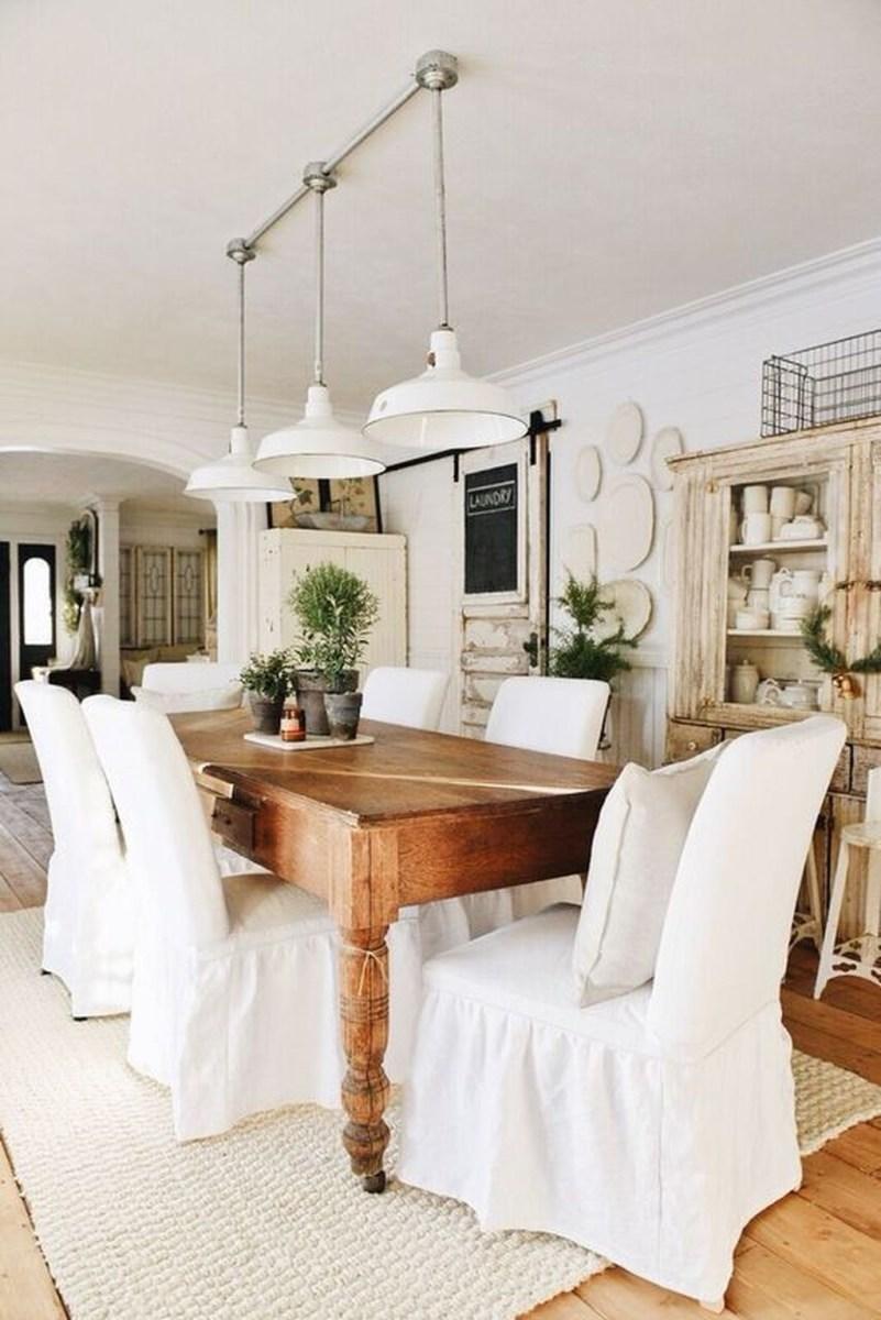 Amazing Rustic Dining Room Design Ideas 40