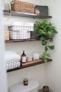 Awesome Hanging Bathroom Storage For Small Spaces 04