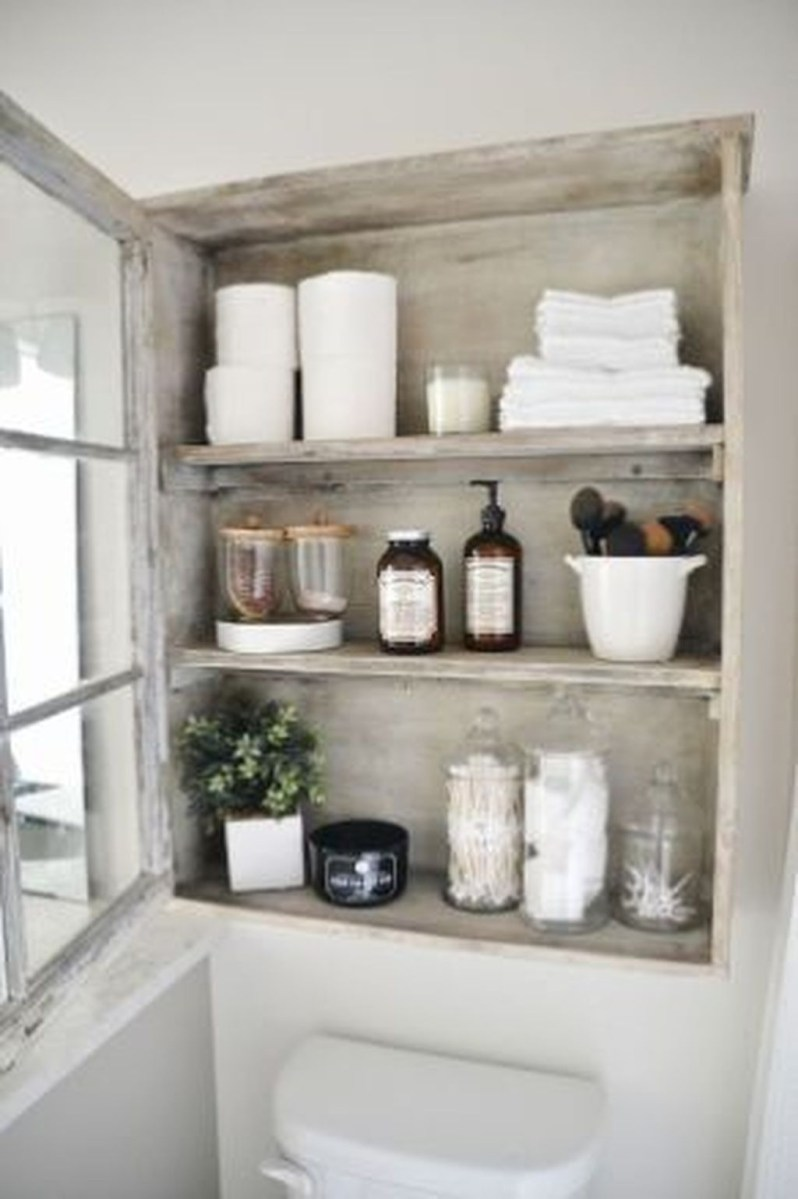 Awesome Hanging Bathroom Storage For Small Spaces 10