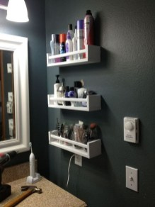 Awesome Hanging Bathroom Storage For Small Spaces 13