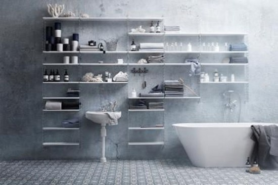 Awesome Hanging Bathroom Storage For Small Spaces 15