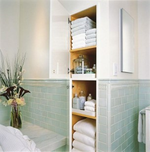 Awesome Hanging Bathroom Storage For Small Spaces 18