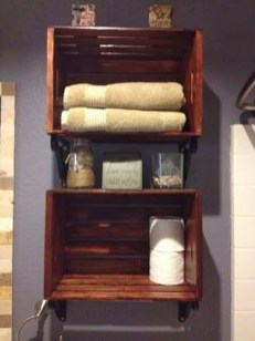 Awesome Hanging Bathroom Storage For Small Spaces 22