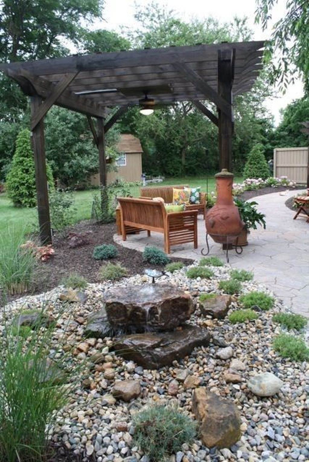 Backyard Landscaping Ideas With Minimum Budget 33