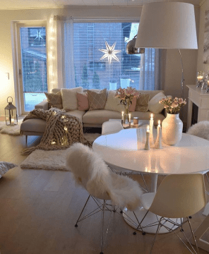 Beautiful Small Space Living Room Decoration Ideas27