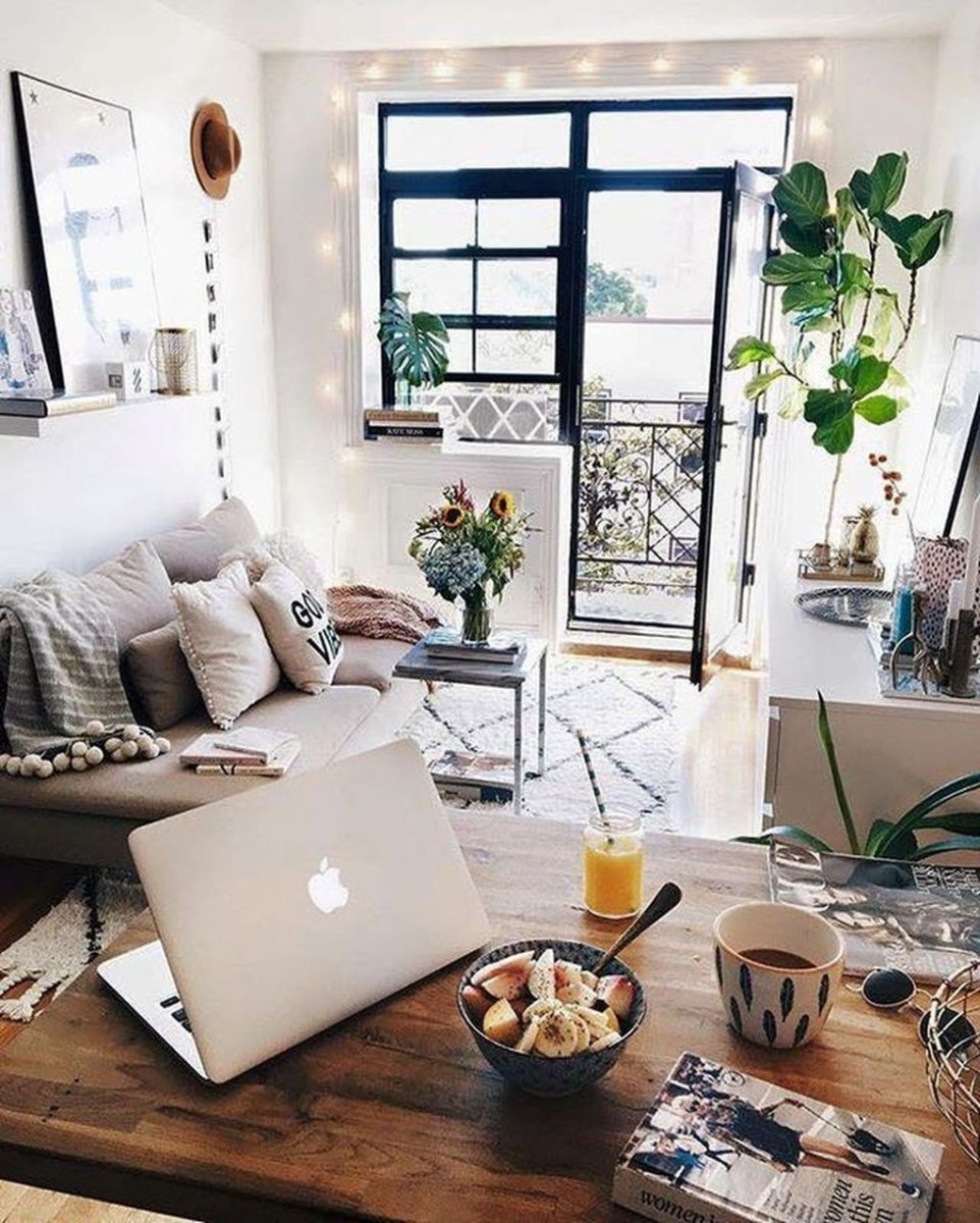 Beautiful Small Space Living Room Decoration Ideas39